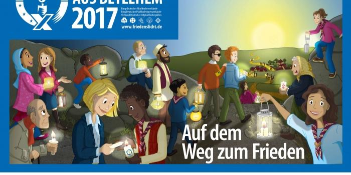 Friedenslicht 2017 im Freiburger Münster