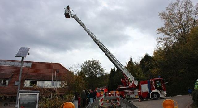 Hilfe Hilfeeee – große Not im Baden-Powell-Haus … bei der Brandschutzübung