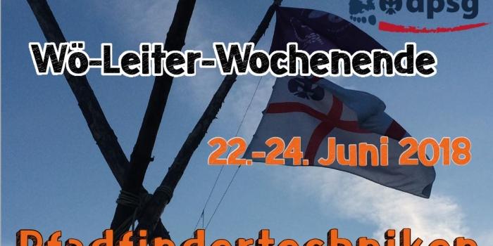 Wö-Leiter-Wochenende 2018