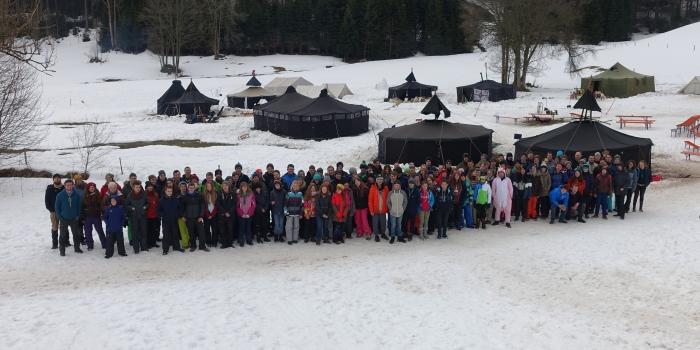 Track for Kidz 2018 – Winterzelten trotz frühlingshafter Witterung