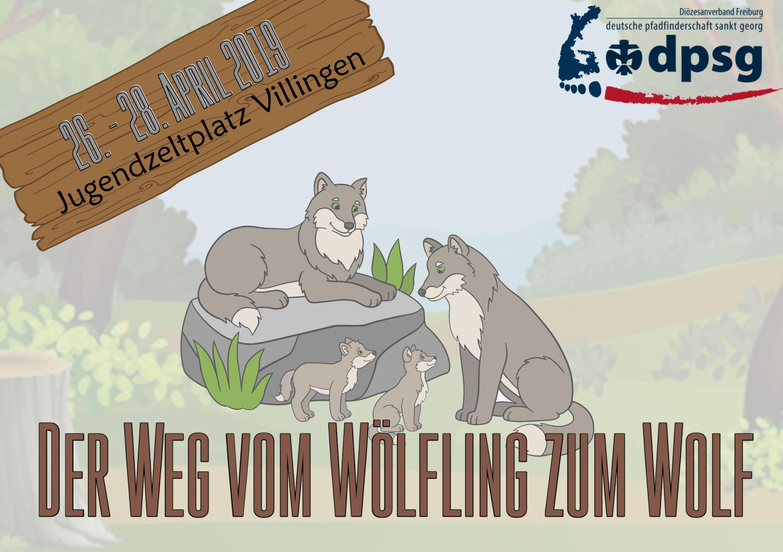 """Wölflings-Wochenende """"Der Weg vom Wölfling zum Wolf"""""""