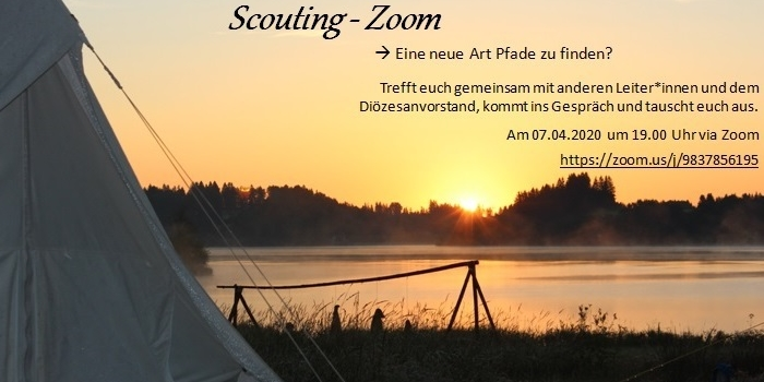 Scouting-Zoom! Die diözesanweite Leitergruppenstunde