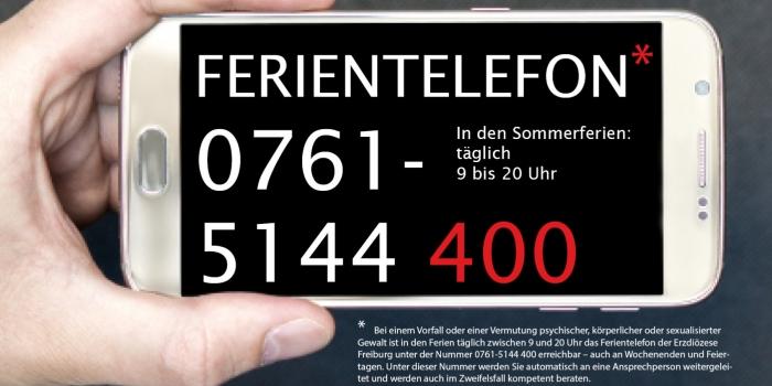 Ferientelefon in den Sommerferien: Anlaufstelle bei Vorfällen sexualisierter Gewalt